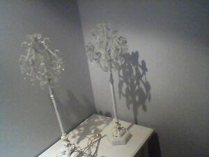 2 lampes de table ou chevet