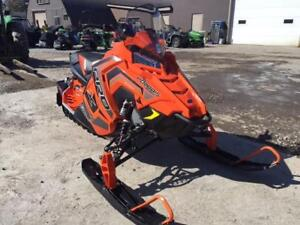 2018 POLARIS 800 RUSH PRO X SCS ORANGE DEMO