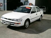 1998 Toyota Corolla AE102R Conquest White 5 Speed Manual Sedan Ballina Ballina Area Preview