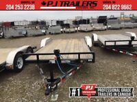 "2019 PJ 20' x 5"" Channel Equipment Trailer, 9.9K GVWR Winnipeg Manitoba Preview"