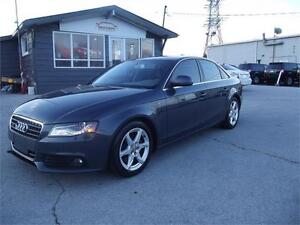 2009 Audi A4 Quattro|AWD|NAV|CAM|SUNROOF|LEATHER