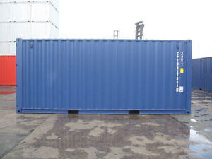 Sale of used storage containers