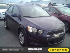 2015 Chevrolet Sonic LS A/C Cruise Bluetooth OnStar AUX/MP3