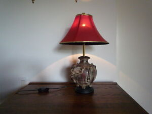 Table lamp from Thailand