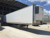 Price Reduced - Solid 53' Dual Axle Reefer with Roll-Up Door