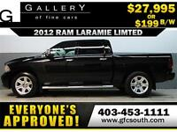 2012 RAM LARAMIE LIMITED *EVERYONE APPROVED* $0 DOWN $199/BW
