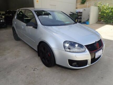 2008 Volkswagen Golf V MY08 GTi Silver 6 Speed Manual Hatchback