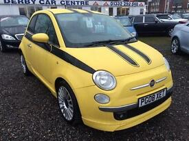 2008 FIAT 500 1.4 Sport VERY HIGH SPEC MODEL GBP2000 OF EXTRAS TOM TOM