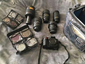 ★★★ Nikon D7200 Camera + Lenses + Accessories ★★★