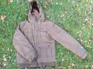 Excellent Cond. FIREFLY Winter Coat Jacket Brown Plush - M Cambridge Kitchener Area image 3