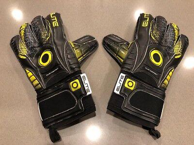 20b512cb6 Elite Sport Vibora Goalkeeper Gloves With Finger Protection Size 11