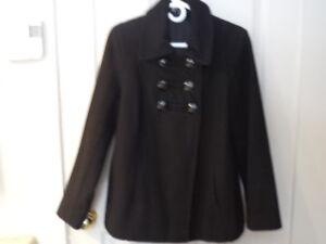 manteau d'hiver noir (femme)