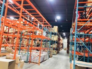 Industrial Racking system, Beams, Bars and A Columns