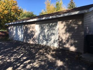 DOUBLE GARAGE FOR RENT - ONE MONTH FREE!