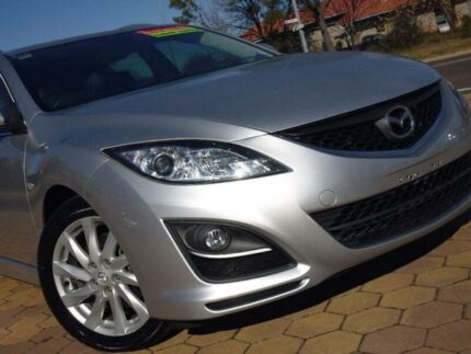 2010 Mazda 6 GH MY09 Classic Silver 5 Speed Auto Activematic Wagon Belconnen Belconnen Area Preview
