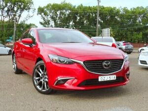 2017 Mazda 6 GL1031 Atenza SKYACTIV-Drive Red 6 Speed Sports Automatic Sedan Ryde Ryde Area Preview