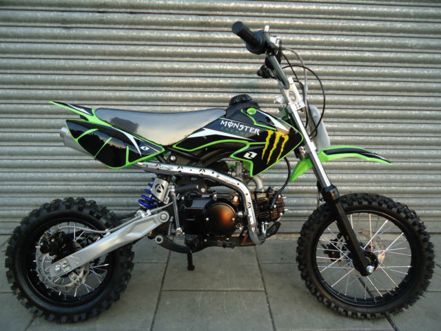 new 125cc pit bike new 2017 model dirt monster 125 in hull east yorkshire gumtree. Black Bedroom Furniture Sets. Home Design Ideas