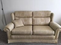 Beautiful 3 Piece Suite Sofa and two Armchairs originally from Beales Excellent Condition