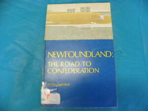 $5 firm. NL books. NL, Wilfrid Eggleston, Road to Confederation