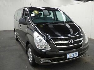 2014 Hyundai iMAX TQ MY13 TQ-W MY13 Black 4 Speed Automatic Wagon Moonah Glenorchy Area Preview