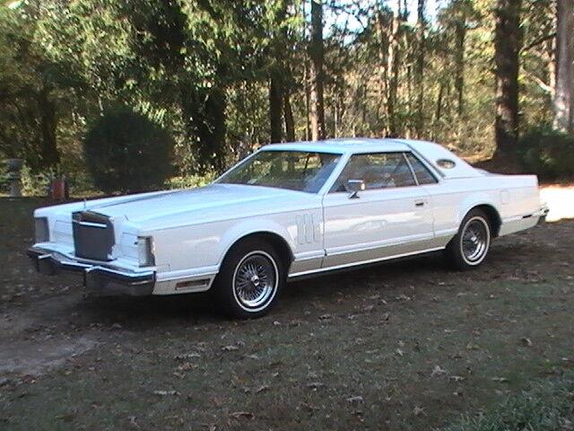 1979 Lincoln Mark Series white 1979  Lincoln  Mark  V