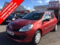 RENAULT CLIO 1.4 EXPRESSION 16V 5d 98 BHP RECENT CAMBELT CHANGE (red) 2007