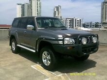 2008 Nissan Patrol GU 6 MY08 ST Gold 5 Speed Manual Wagon Southport Gold Coast City Preview