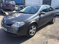 Nissan Primera 2003, starts and drives well, MOT until February 2018, does export, only has green sl