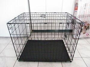 """Cage pour Moyen chien, en métal tres solide et pliable 30x24x21"""""""
