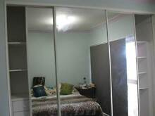Built in Wardrobe Unit - 3 Mirrored Sliding Panels 2600W x 2400H Como Sutherland Area Preview