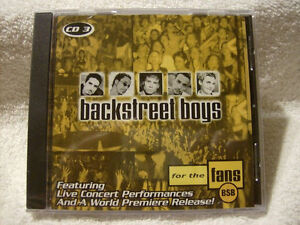 Backstreet Boys-For The Fans cd-Mint condition(CD 3 OF 3) + bonu