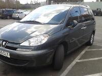 Peugeot 807se, 2006, automatic, diesel, 7 seater, 12 months MOT