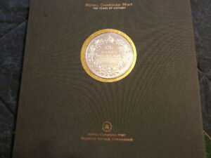 Limited Edition Centennial Book - Silver 50 cent Coin - 2008