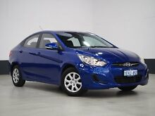2013 Hyundai Accent RB Active Blue 4 Speed Automatic Sedan Bentley Canning Area Preview