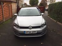 Excellent Condition, Low Mileage, Volkswagen Golf 1.6 TDI BlueMotion Tech S 5dr (start/stop)