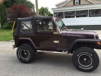 98 Jeep TJ CERTIFIED/etested