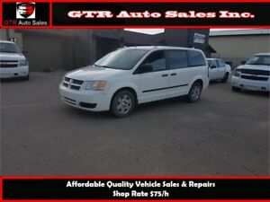 2008 Dodge Grand Caravan C/V *VERY LOW KM, PRICED TO SELL*