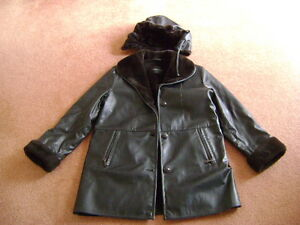 Brown Leather Coat (womens)