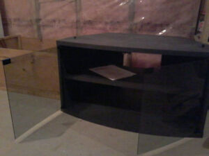 Black wooden TV stand London Ontario image 2