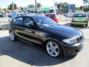 2010 BMW 120i E87 MY11 Black 6 Speed Automatic Hatchback