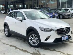 2019 Mazda CX-3 DK2W7A Maxx SKYACTIV-Drive FWD Sport White 6 Speed Sports Automatic Wagon Palmyra Melville Area Preview
