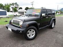 2012 Jeep Wrangler Unlimited JK MY12 Sport (4x4) Black 5 Speed Automatic Softtop Bungalow Cairns City Preview