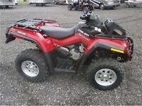 2009 CAN AM OUTLANDER 800XT WITH RAD RELOCATE! 800 MLS!$6995!