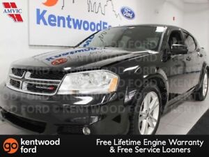 2013 Dodge Avenger SXT FWD with heated power seats