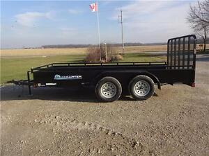 2016 Load Trail SOLID SIDE UTILITY! CALL NOW! London Ontario image 2