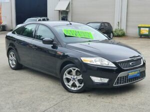 2009 Ford Mondeo MA TDCi Black 6 Speed Sports Automatic Hatchback Mayfield East Newcastle Area Preview