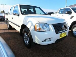 2009 Great Wall SA220 Super Luxury White 5 Speed Manual Utility Mount Druitt Blacktown Area Preview