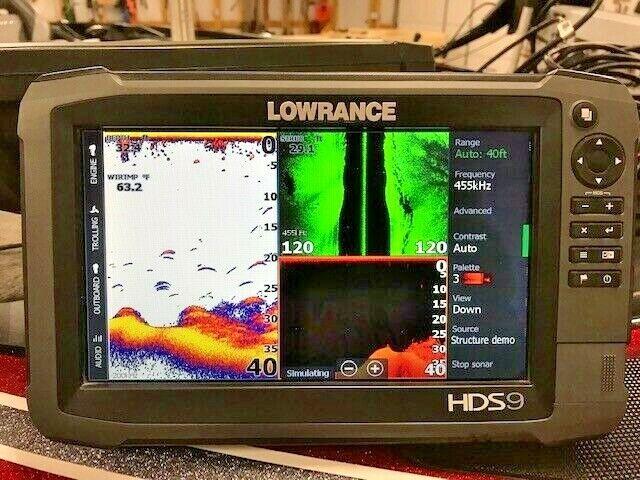 Lowrance HDS 9 GEN 3Fishfinder / Charts / GPS