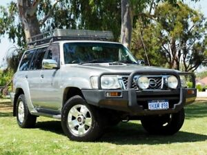 2009 Nissan Patrol GU 6 MY08 ST-L Silver 4 Speed Automatic Wagon Myaree Melville Area Preview