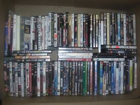 Large selection of top title DVD's